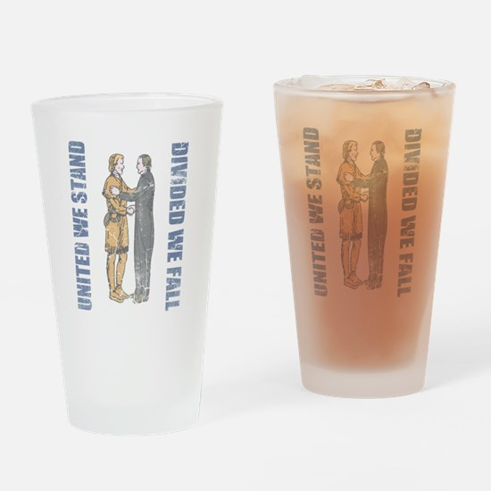 Kentucky United We Stand Divided We Drinking Glass