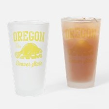 Cute Cool oregonians Drinking Glass