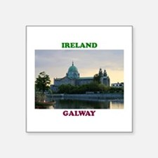 """Galway Cathedral Square Sticker 3"""" x 3"""""""