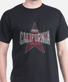 Vintage California Republic Star T-Shirt