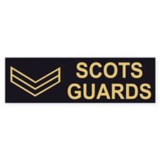 Scots Guards LCpl<BR> Bumpersticker 2