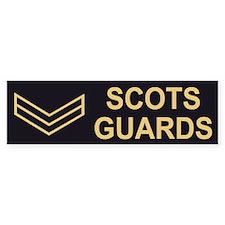 Scots Guards LCpl<BR> Bumpersticker 2