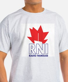 X-RADIO-NOORDZEE-INTL-Ger_Neth_UK-71-LARGE T-Shirt
