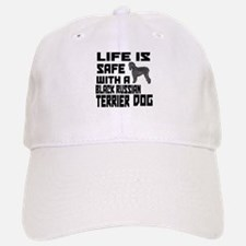 Life Is Safe With A Black Russian Terrier Baseball Baseball Cap