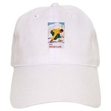 Ski Whistler BC Baseball Cap