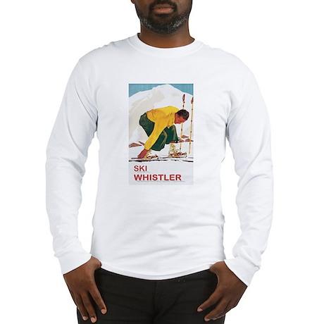 Ski Whistler BC Long Sleeve T-Shirt