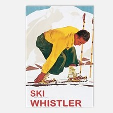 Ski Whistler BC Postcards (Package of 8)