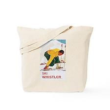 Ski Whistler BC Tote Bag