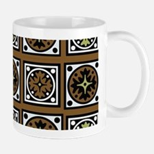 Aztec Brown Quilt Mugs