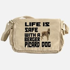 Life Is Safe With A Berger Picard Messenger Bag