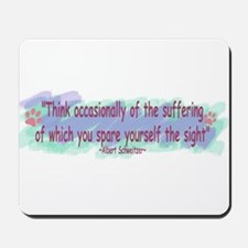 Think Occasionally-2 Mousepad