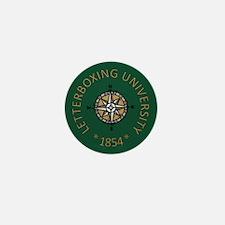 Letterboxing University Mini Button