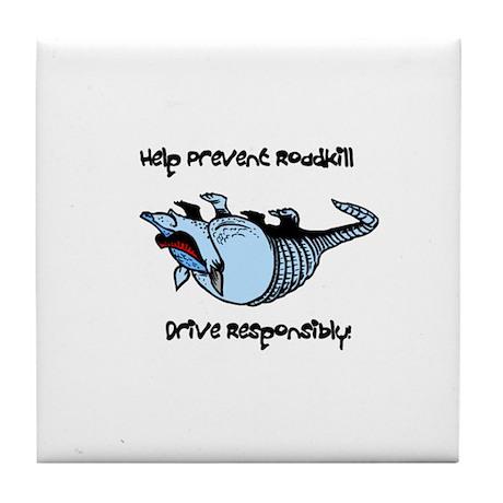 Prevent Roadkill Tile Coaster