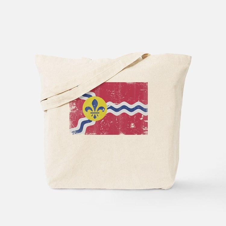 Cute St louis flag Tote Bag