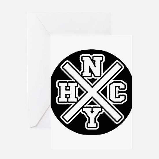 nyhcwhite Greeting Cards