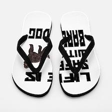 Life Is Safe With A Barbet Flip Flops