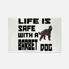 Life Is Safe With A Bar Rectangle Magnet (10 pack)