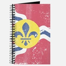 Vintage Grunge Flag of St Louis Missouri Journal