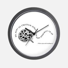 I'll Have A Pizza... Wall Clock