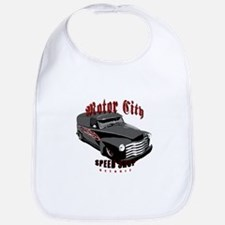 Hot Rod Panel Delivery Truck Baby's Bib