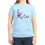 I Love My Cat Women's Light T-Shirt
