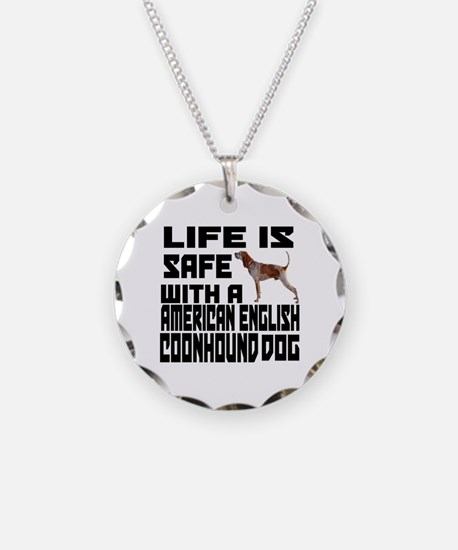 Life Is Safe With A American Necklace