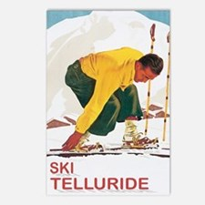 Ski Telleuride Co Postcards (Package of 8)