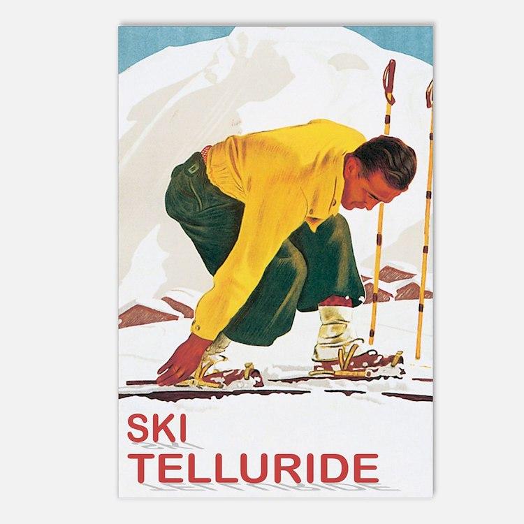 Ski Telleuride Co Postcards (Package of 8)