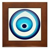 Turkish evil eye Framed Tiles