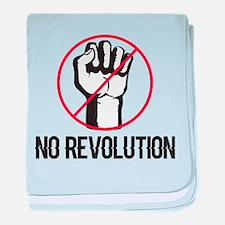 no revolution baby blanket