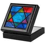 Bar mitzvah Square Keepsake Boxes