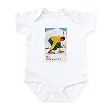Ski Sun Valley Idaho Infant Bodysuit