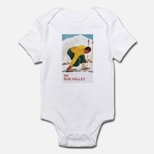 Ski Sun Valley Idaho Infant Bodysuit