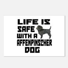 Life Is Safe With A Affen Postcards (Package of 8)