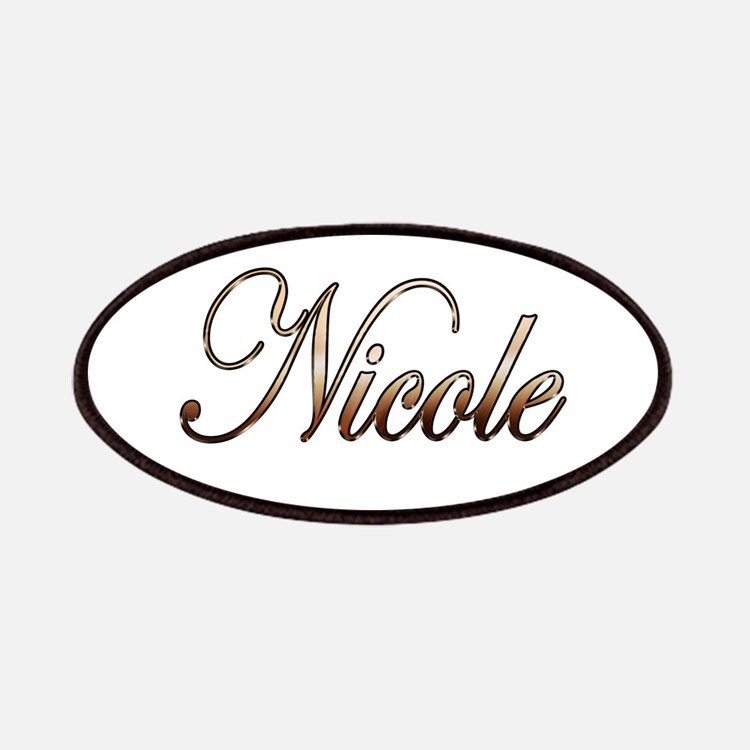 Gold Nicole Patch
