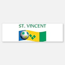 TEAM ST. VINCENT GRENADINES W Bumper Bumper Bumper Sticker