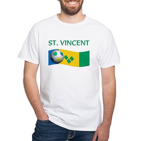 TEAM ST. VINCENT GRENADINES W White T-Shirt