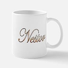 Gold Nestor Mugs