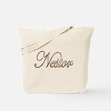 Gold Nestor Tote Bag