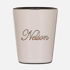 Gold Nelson Shot Glass