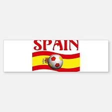 TEAM SPAIN WORLD CUP Bumper Bumper Bumper Sticker