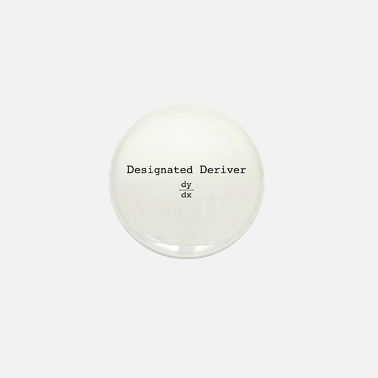 Designated Deriver Mini Button (10 pack)