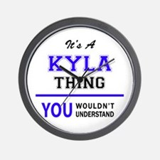It's KYLA thing, you wouldn't understan Wall Clock