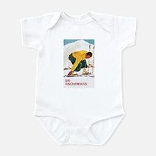 Ski Snowmass Colorado Infant Bodysuit