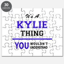 It's KYLIE thing, you wouldn't understand Puzzle