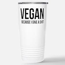 Cute Vegan Travel Mug