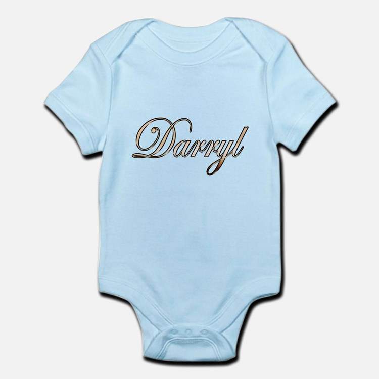 Gold Darryl Body Suit