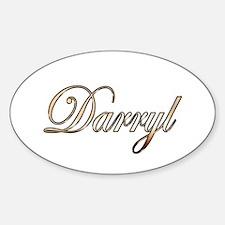 Gold Darryl Decal