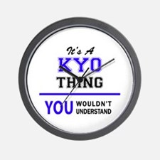 It's KYO thing, you wouldn't understand Wall Clock