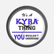 It's KYRA thing, you wouldn't understan Wall Clock